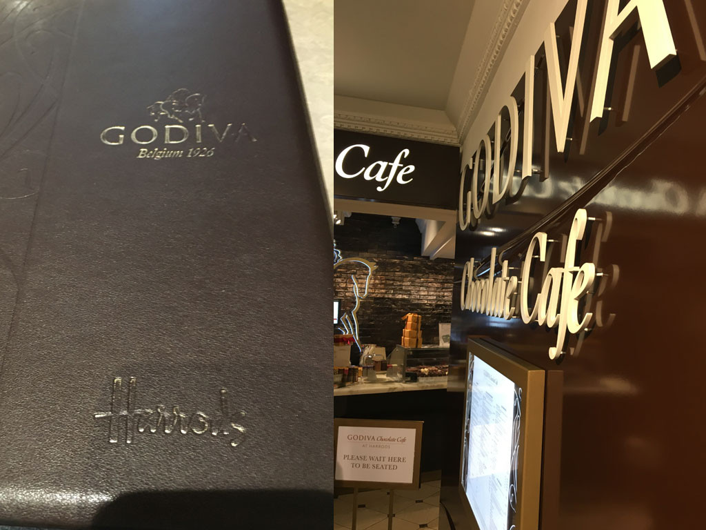 Godiva Chocolate Cafe At Harrods London You Need To Visit