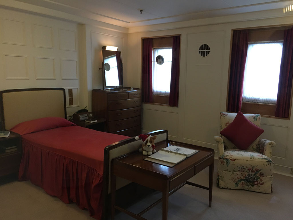 Our visit on the royal yacht britannia edinburgh review for Honeymoon suites in louisville ky