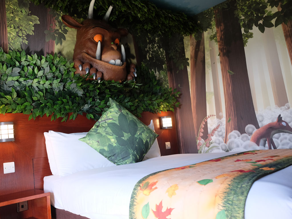Our Stay In The Gruffalo Themed Rooms At Chessington You