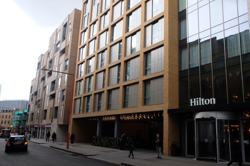 hilton hotels london